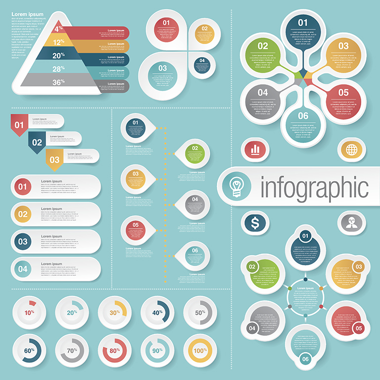 Infographics are a form of visual storytelling